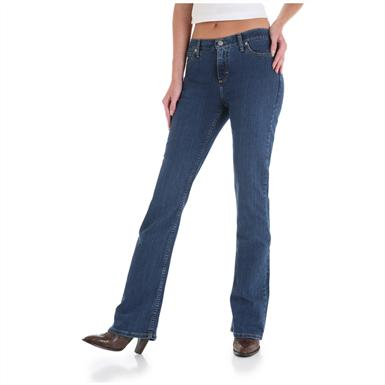 Women's As Real as Wrangler® Misses Classic Fit Jeans, Ripling Water