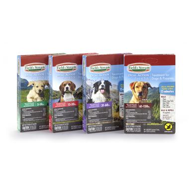 Field & Stream® Dual Action Flea and Tick Treatment