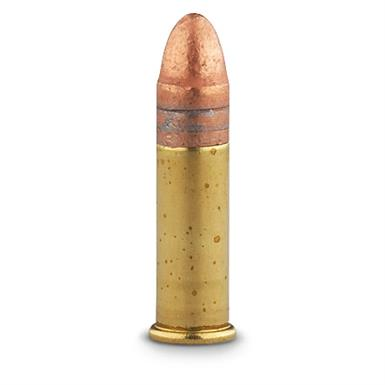 Plated Lead Round Nose Bullet
