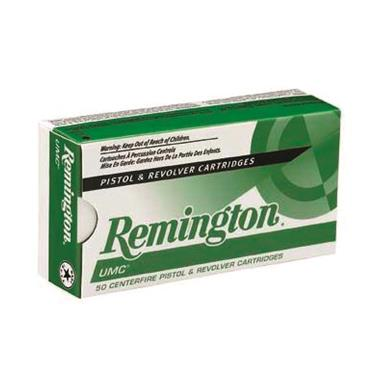 Remington UMC Handgun, .40 S&W, MC, 1,000 Rounds