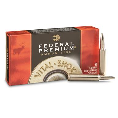 Federal Premium Vital-Shok Trophy Bonded Bear Claw, 7mm Rem. Mag, 175 Grain, 20 Rounds