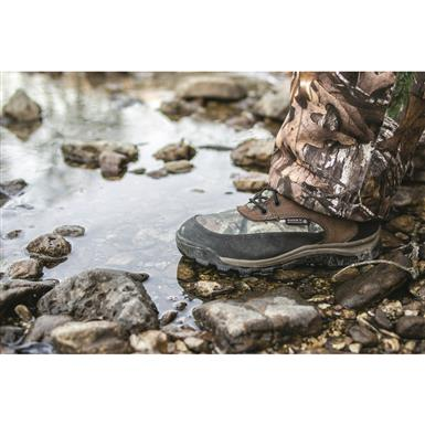 Fast, firm lacing with 4 eyelets and 4 speed hooks, Mossy Oak Break-Up Infinity®