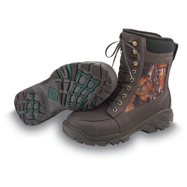 "Men's Muck Boots™ 8"" Uplander Camo Waterproof Rubber Hunting Boots, Mossy Oak Break-Up Infinity®"