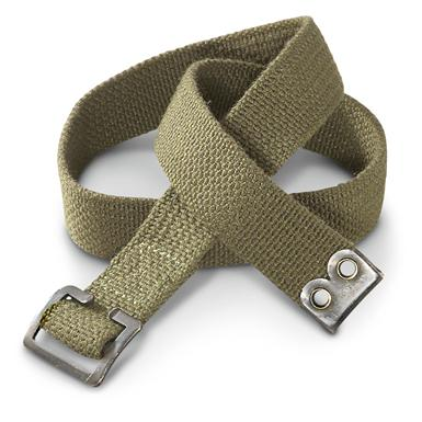 20 New Dutch Military Surplus Straps with Buckle