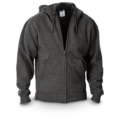Dickies® Midweight Full-zip Fleece Work Hoodie Dark Heather
