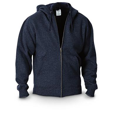 Dickies® Midweight Full-zip Fleece Work Hoodie, Dark Navy