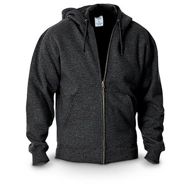 Dickies® Midweight Full-zip Fleece Work Hoodie, Black