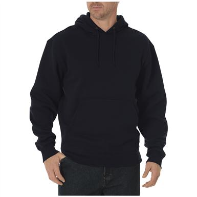 Dickies® Midweight Fleece Work Pullover, Black