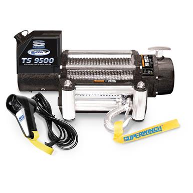 Superwinch Tiger Shark Winch, 9,500-lb.
