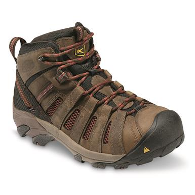 KEEN Utility Men's Flint Mid Steel Toe Work Boots