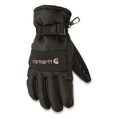 Carhartt Waterproof Insulated Work Gloves, Black