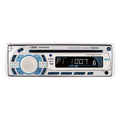Boss Marine® MR1465W AM / FM / CD-R / CD-RW / iPod / MP3 60 watt x 4 Channel Stereo with Remote