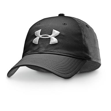 Under Armour Classic Outdoor Hat, Black / White