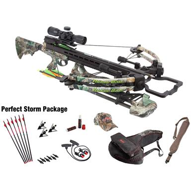 Parker® Gale Force 165-lb. Crossbow with Perfect Storm 3X Pin Point Scope Package