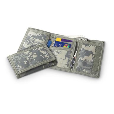 2 Military-style Wallets, Army Digital