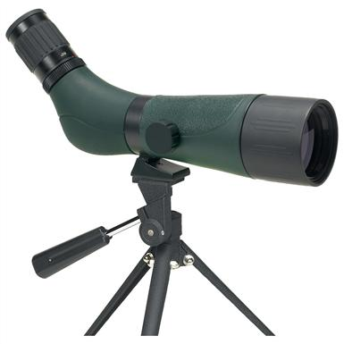 Alpen® 20-60x60mm Waterproof Angled Spotting Scope with 45° Eyepiece