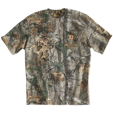 Carhartt WorkCamo T-Shirt, Realtree Xtra