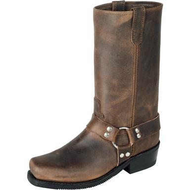 "Men's Double H 13"" Harness Boots, Tan"