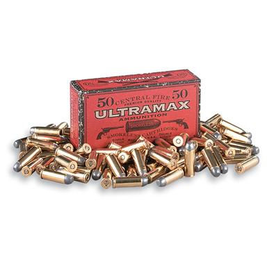 Ultramax, .45 cal., RNFP,  200 Grain, 500 Rounds