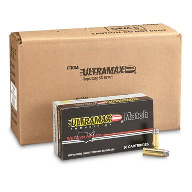 Ultramax Remanufactured, .44 Magnum, SWC, 240 Grain, 250 Rounds