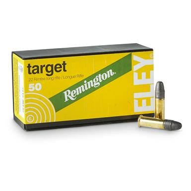 Remington / Eley, .22 Competition Target Rifle, LRN, 40 Grain, 500 Rounds