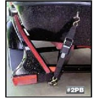 Paddle Buckle Transom Tie-Downs 1000 lbs. 2 inch x 4 foot