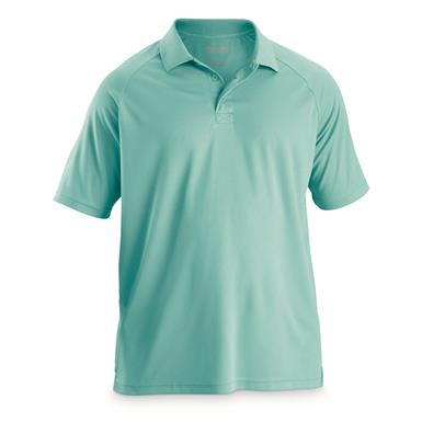Guide Gear Men's Performance Polo Shirt, Turquoise