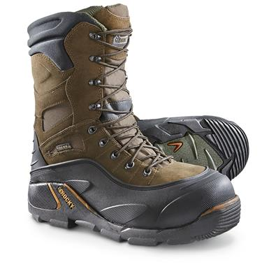 Rocky® Blizzard Stalker 1,200-gram Thinsulate™ Ultra Insulation Steel Toe Boots, Brown