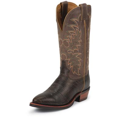 Tony Lama Men's Krauss Tan Cowboy Boots., Java