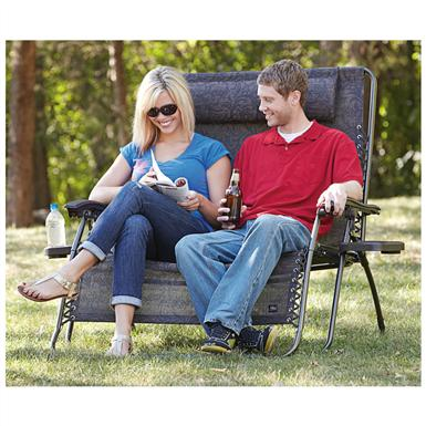 bliss hammocks   2 person gravity free recliner brown bliss hammocks   2 person gravity free recliner   578462 chairs at      rh   sportsmansguide