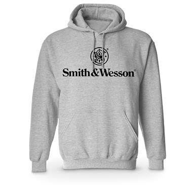 Smith & Wesson Pullover Hooded Sweatshirt, Athletic Heather