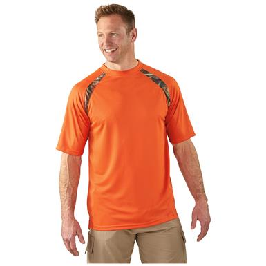 Guide Gear Men's Performance Short-Sleeve T-Shirt, 2 Pack, Burnt Orange / Realtree AP®