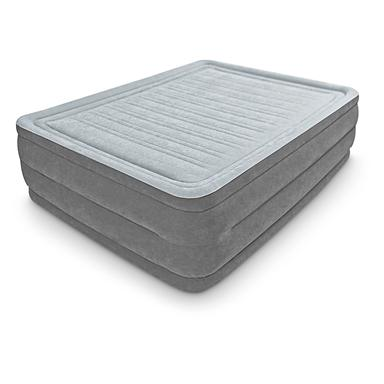 Intex® Queen Comfort Plush High Rise Airbed • 600-lb. capacity