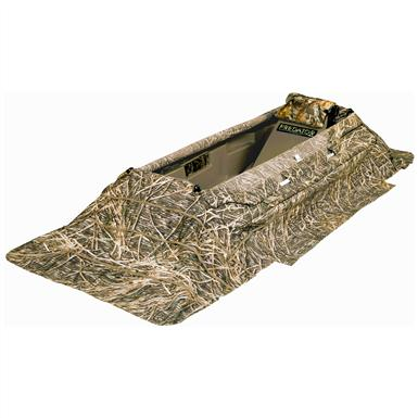 Beavertail® Predator Field Blind & XCS Xtreme Cover System Combo Pack, Shadow Grass