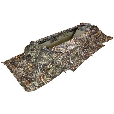 Beavertail® Predator Field Blind & XCS Xtreme Cover System Combo Pack, Max-4