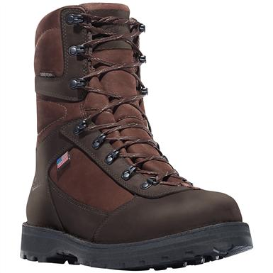 "Men's Danner® 8"" East Ridge All-leather Waterproof Hunting Boots, Brown"