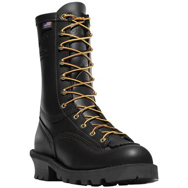 Danner® Flashpoint II All Leather Fire Work Boots, Black