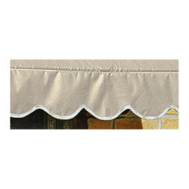 CASTLECREEK 8 foot Window and Door Awning, Linen