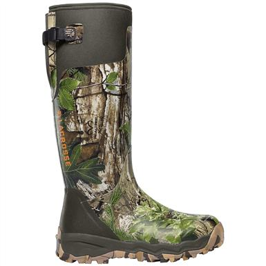 "LaCrosse Men's 18"" Alphaburly Pro Rubber Hunting Boots, Realtree Xtra"