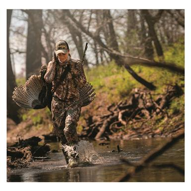 Burly Pro Outsole provides traction in any terrain, Realtree Xtra® Green