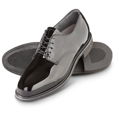 U.S. Military Men's Corfam Glossy Uniform Dress Shoes