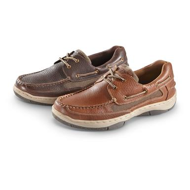 Guide Gear Men's Lace Up Boat Shoes