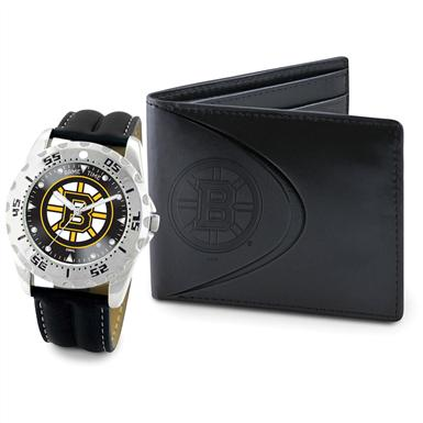 Game Time® NHL® Watch and Wallet Series, Bruins