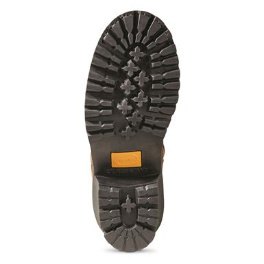 One-piece rubber lug outsole is oil-resistant, Copper