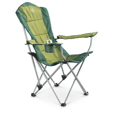 Portable Campmate Recliner Chair, Spruce