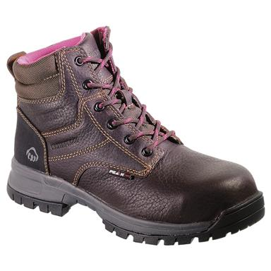 Women's Wolverine® Piper Peak AG Boots, Brown