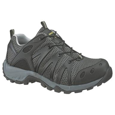Men's Wolverine® Amherst Composite Toe Trail Running Shoes, Gunmetal