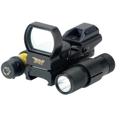 BSA® Panoramic Sight with Laser and Light