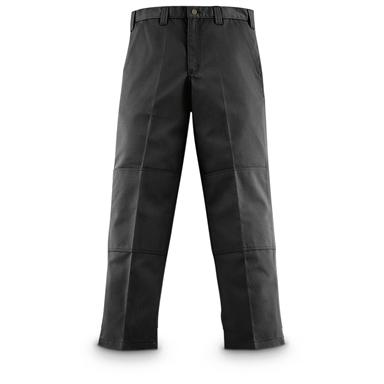Carhartt Twill Double-knee Work Pants, Black