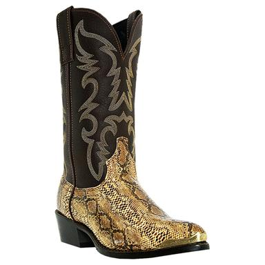 Laredo Men's Monty Western Boots, Brown